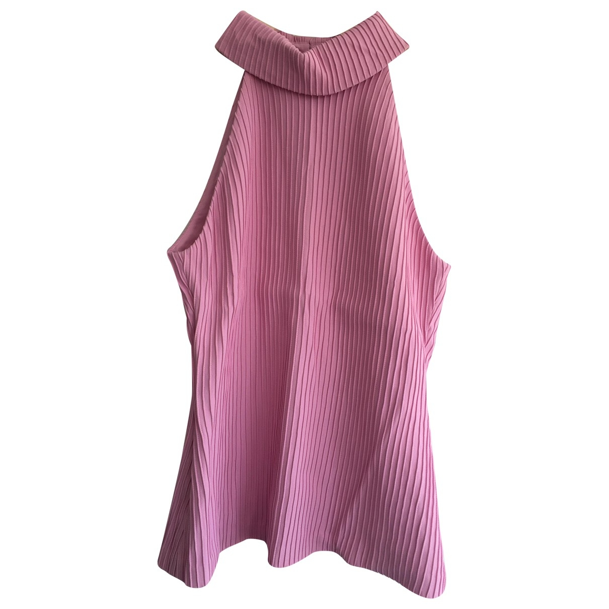 Brandon Maxwell \N Pink  top for Women 6 US