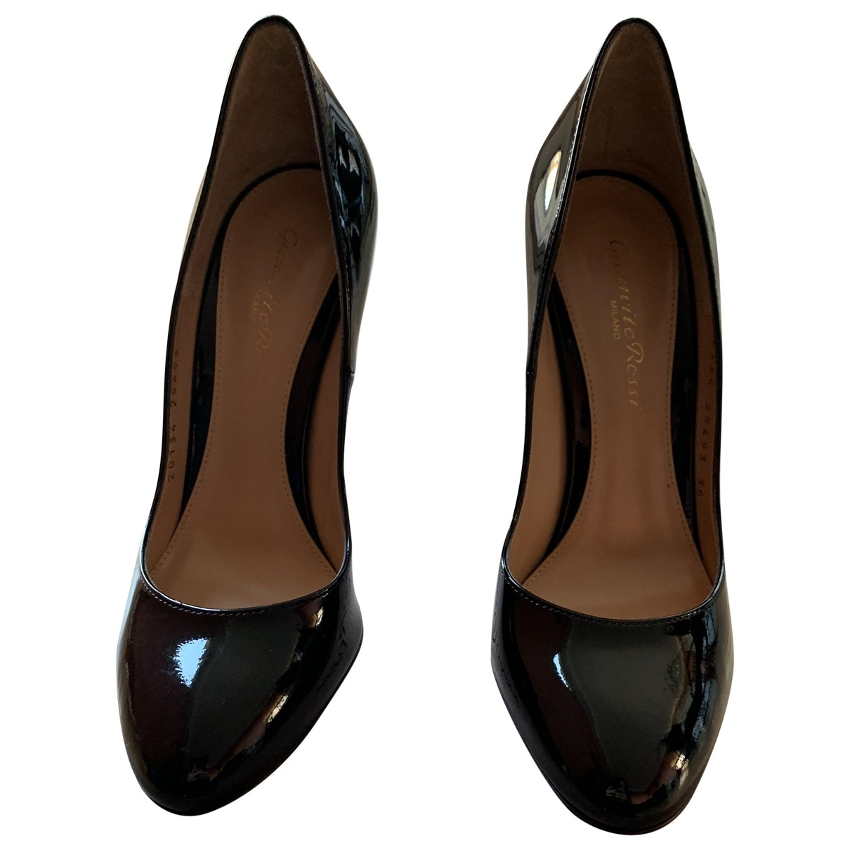 Gianvito Rossi \N Black Patent leather Heels for Women 36 EU