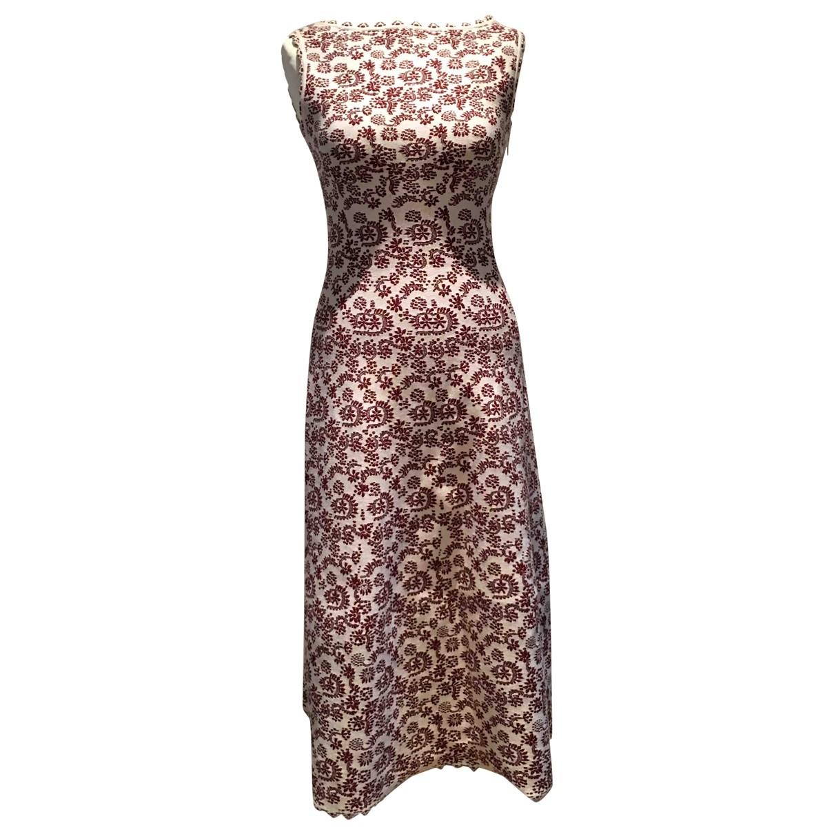 Alaia \N Kleid in  Weiss Wolle