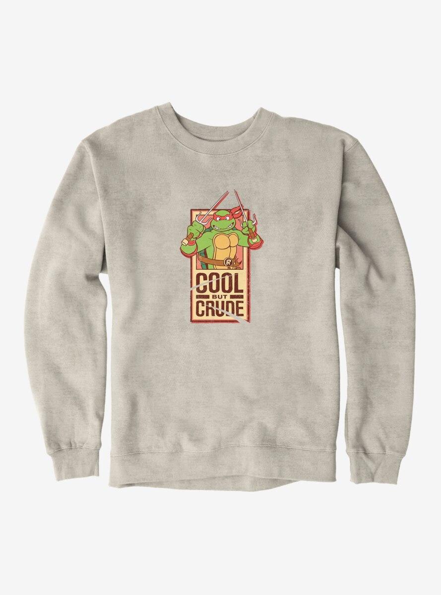 Teenage Mutant Ninja Turtles Raphael Cool But Crude Strip Sweatshirt