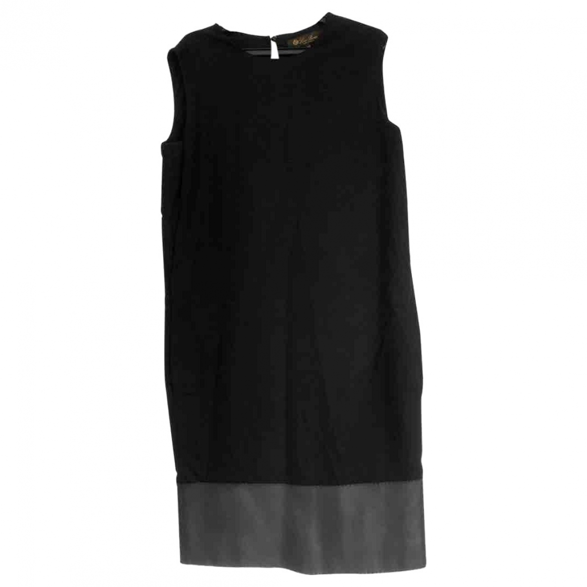 Loro Piana \N Black Cashmere dress for Women 38 IT