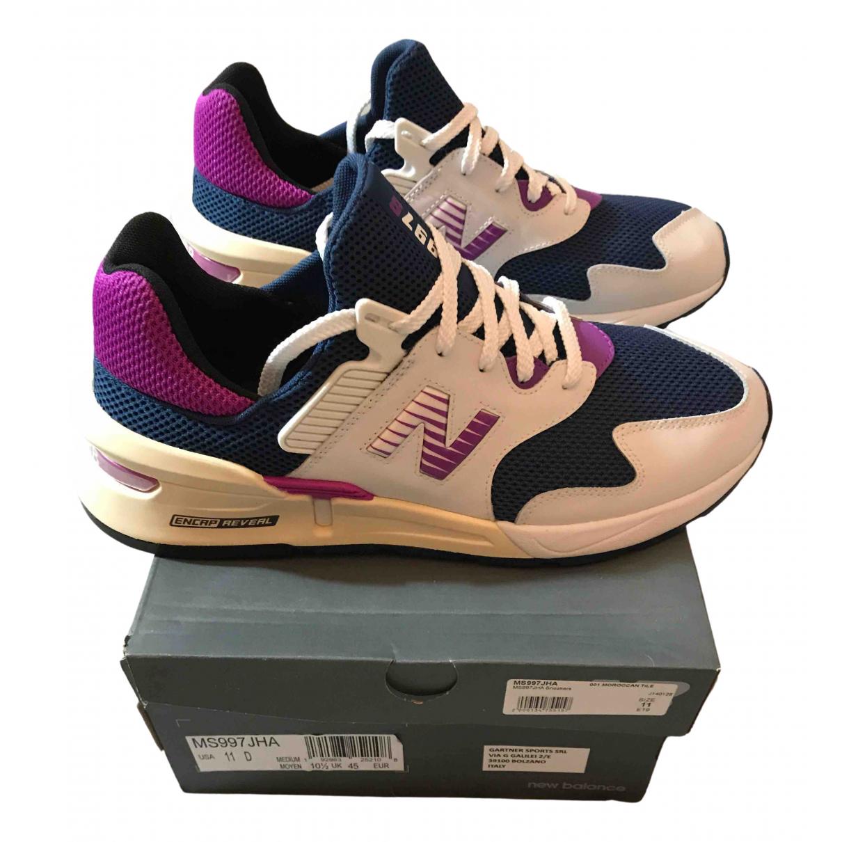 New Balance \N Sneakers in  Marine Leinen