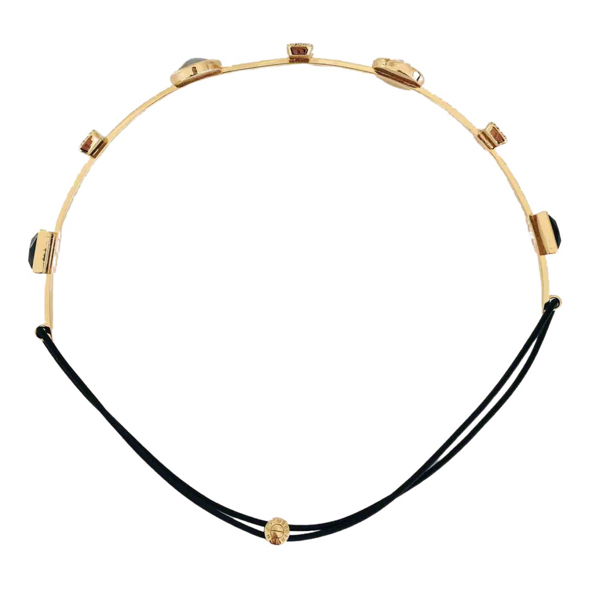 Non Signe / Unsigned \N Haarschmuck in  Gold Metall