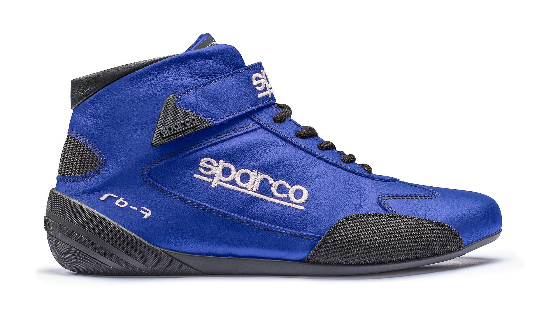 Sparco 00122438AZ Blue Cross RB-7 Driving Shoes EU 38