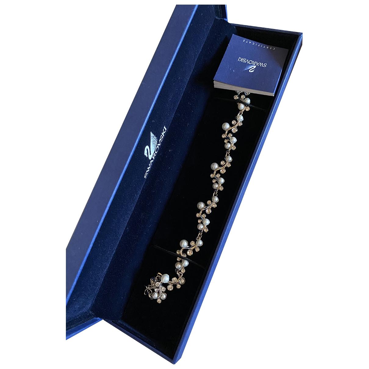 Swarovski \N Armband in  Silber Metall