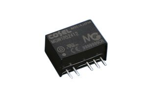 Cosel MGW 3W Isolated DC-DC Converter PCB Mount, Voltage in 18 → 36 V dc, Voltage out ±15V dc