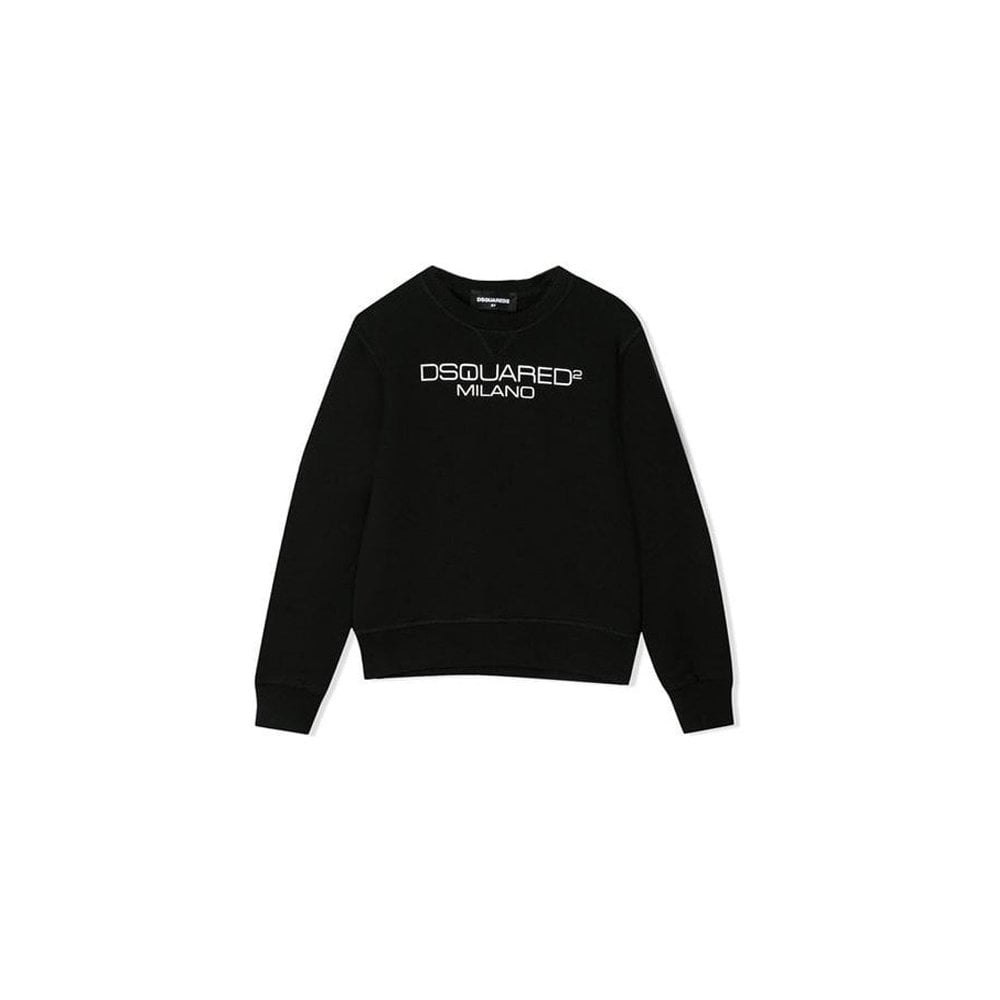 Dsquared2 Milano Sweater Colour: BLACK, Size: 12 YEARS