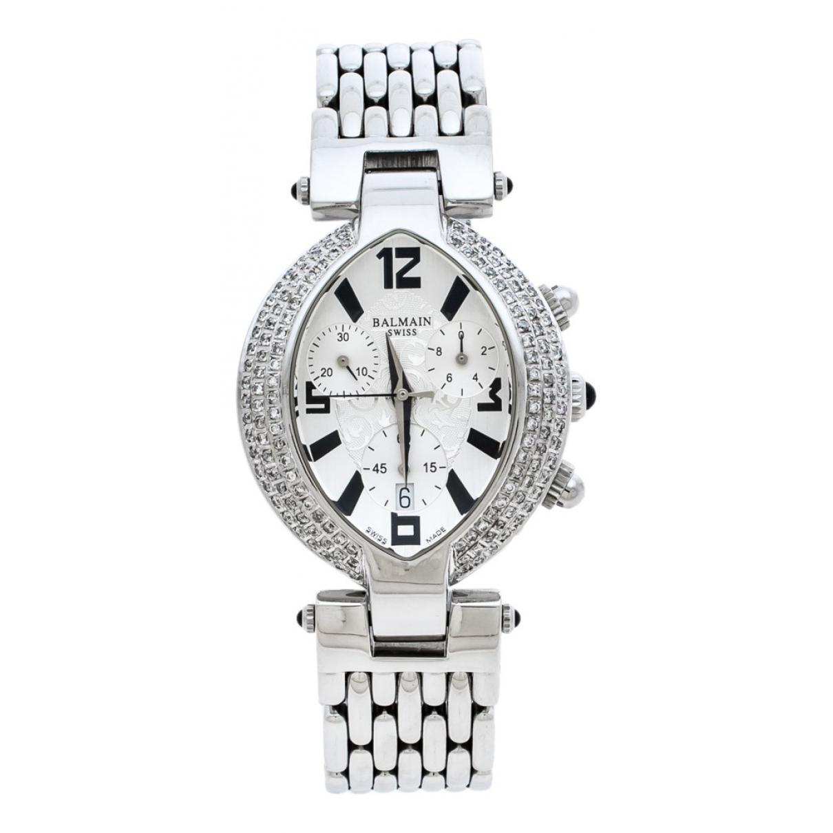 Balmain \N Uhr in  Silber Stahl