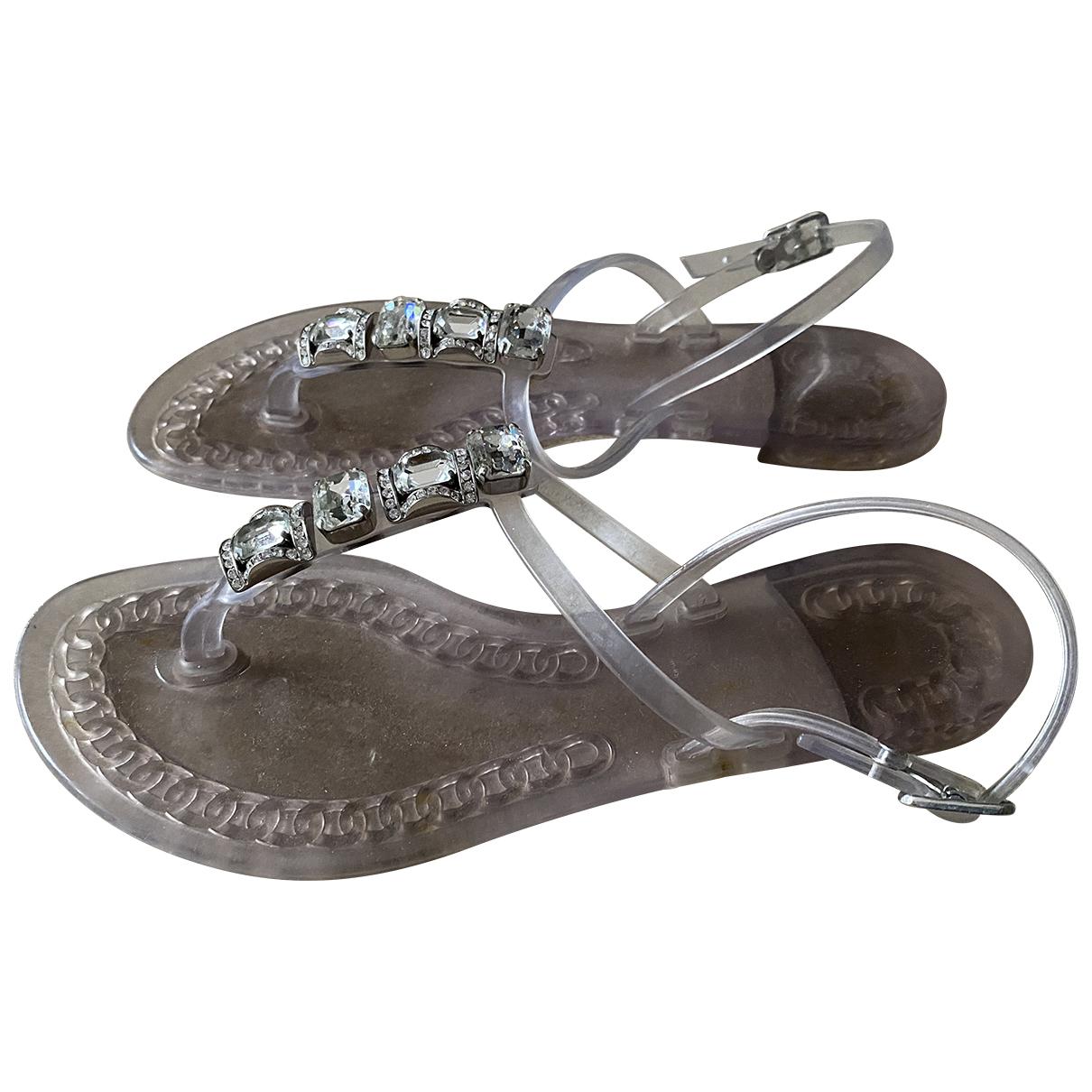 Casadei \N Rubber Sandals for Women 38 EU