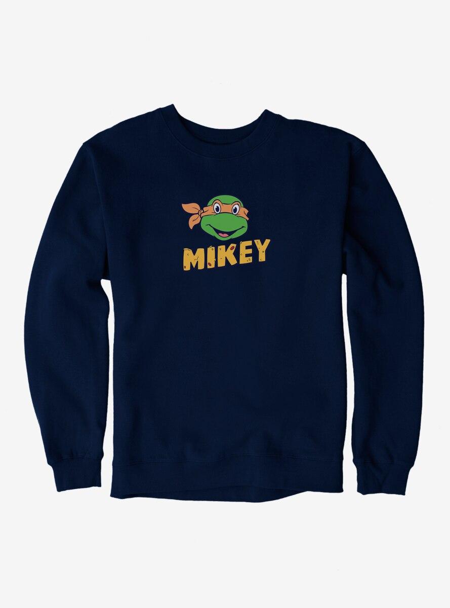 Teenage Mutant Ninja Turtles Mikey Face Pizza Name Sweatshirt