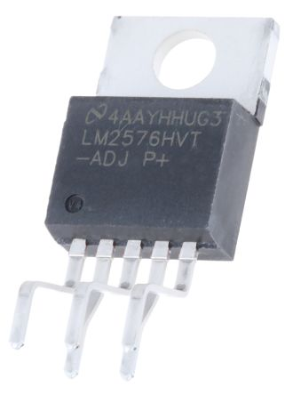 Texas Instruments , LM2576HVT-ADJ/LF03 Step-Down Switching Regulator, 1-Channel 3A Adjustable 5-Pin, TO-220