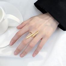 1 pieza anillo con barra