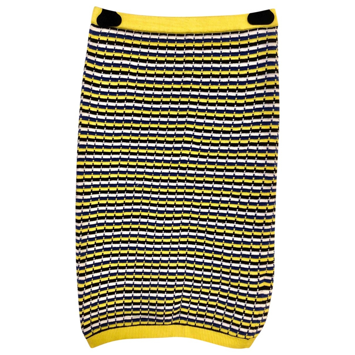 Topshop - Jupe   pour femme en coton - multicolore