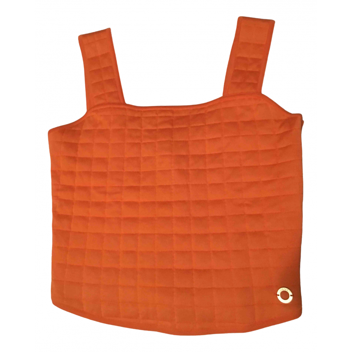 Chanel \N Orange Cotton  top for Women 38 FR