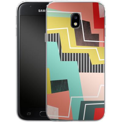 Samsung Galaxy J3 (2017) Silikon Handyhuelle - Color Block I von Susana Paz