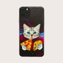 iPhone Huelle mit Katze Muster