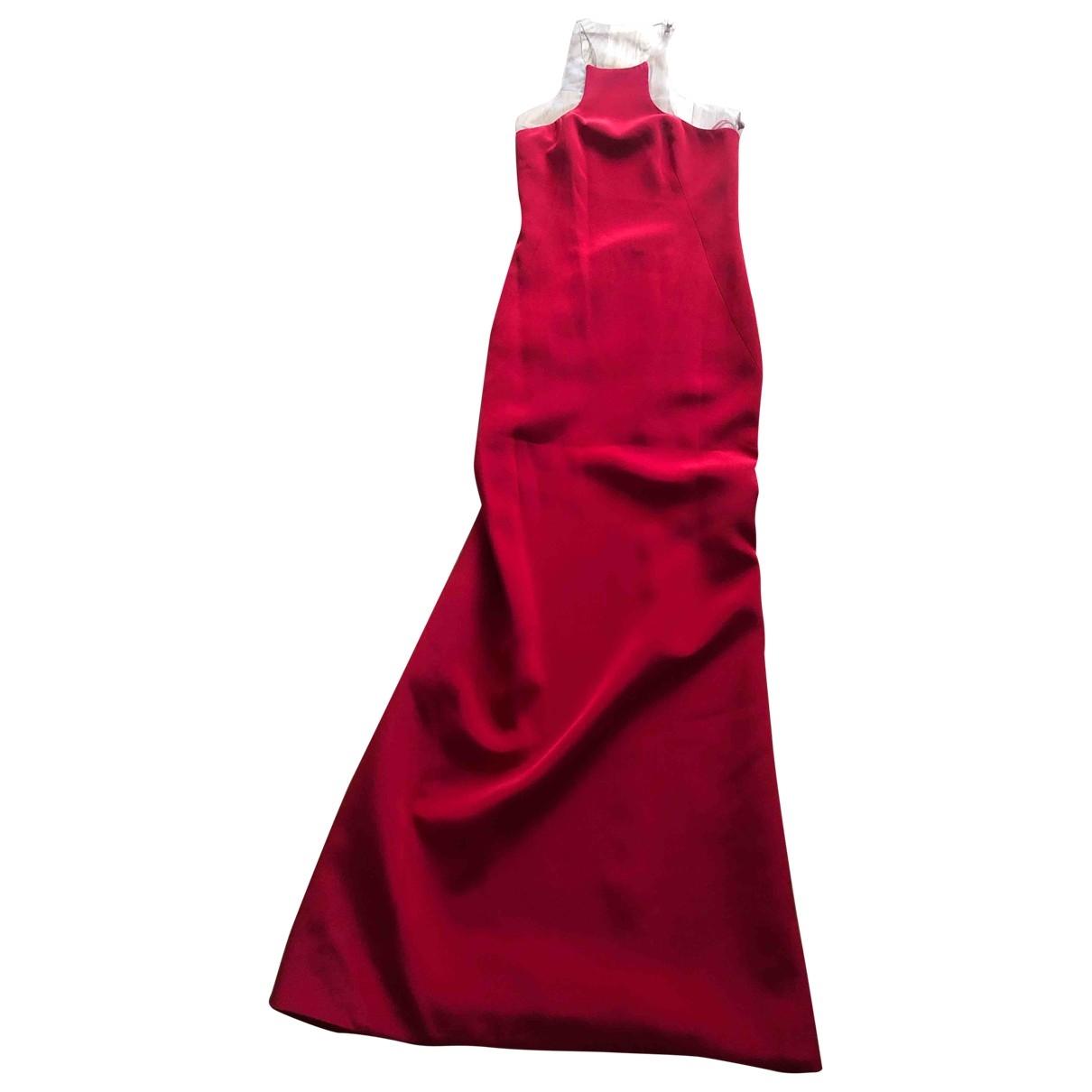 Kaufmanfranco \N Red Silk dress for Women 0 0-5
