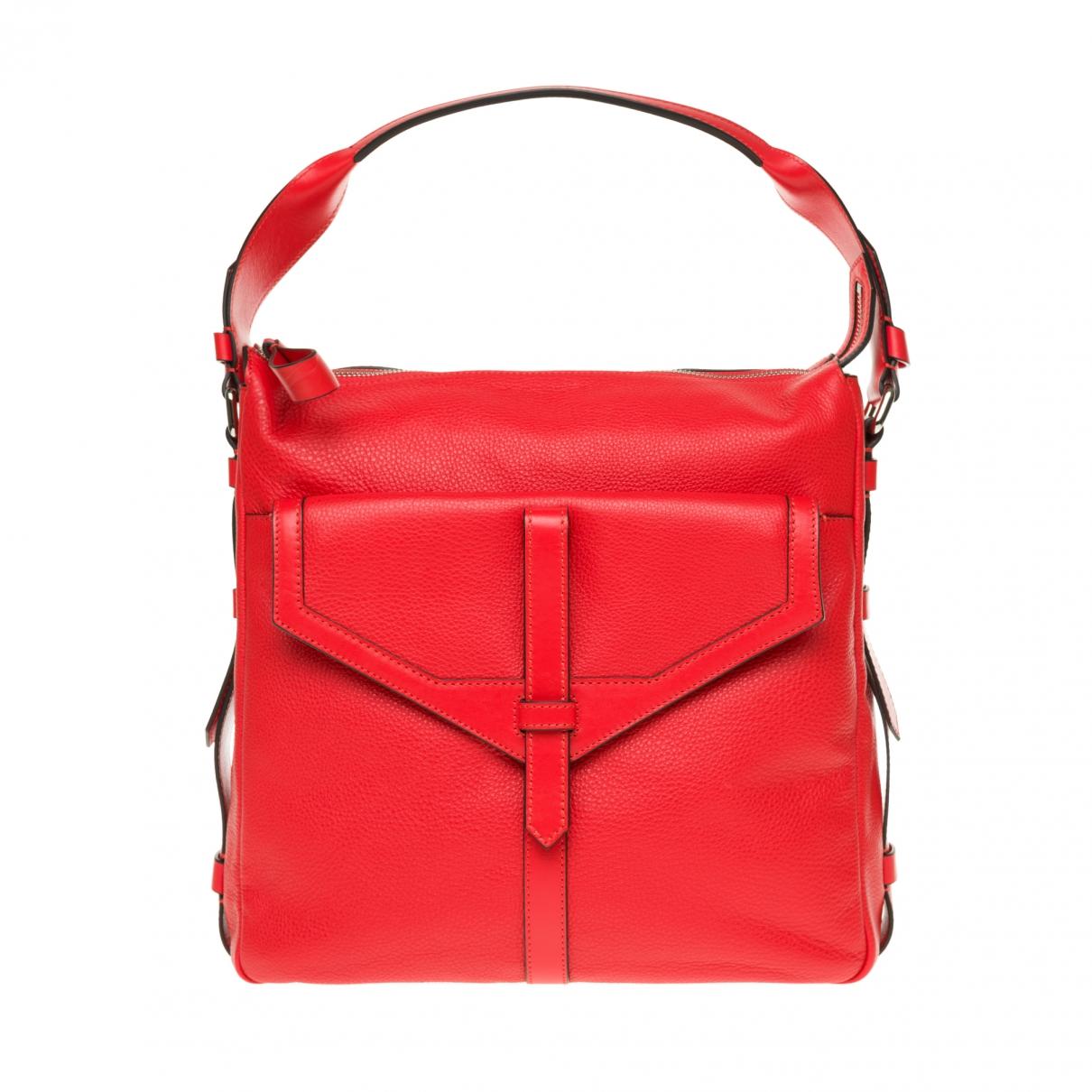 Lancel \N Red Leather handbag for Women \N