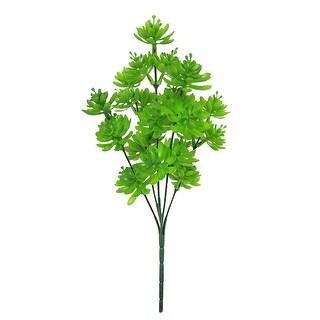 Set of 3 Gem Lotus Succulent Greenery Bush 12in (Green - 12