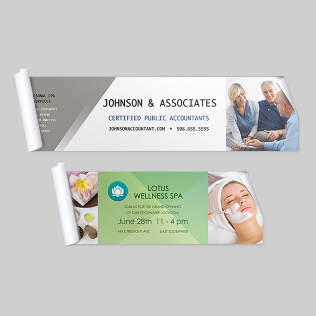 2x8 Adhesive Business Banner, Business Printing