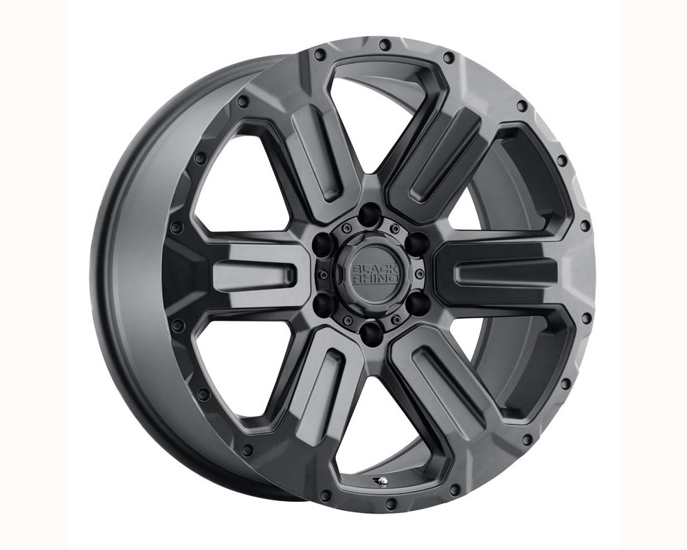 Black Rhino Wanaka Wheel 17x8.5 5x114.30 35 Matte Black