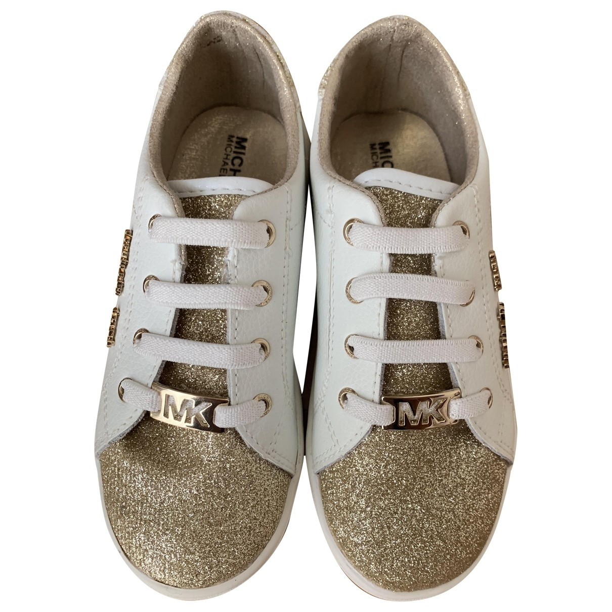 Michael Kors \N Gold Leather Trainers for Kids 28 EU