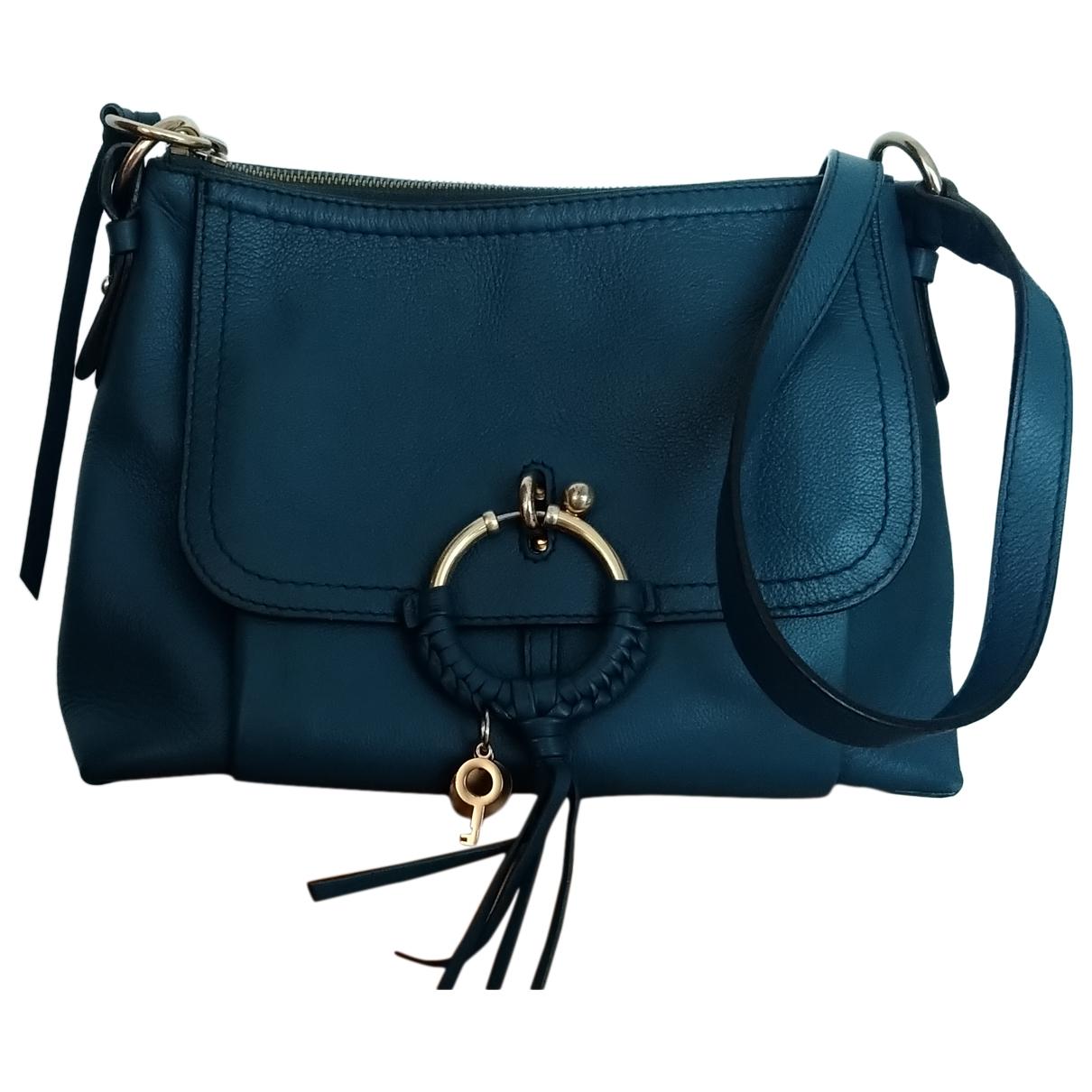 See By Chloé \N Blue Leather handbag for Women \N