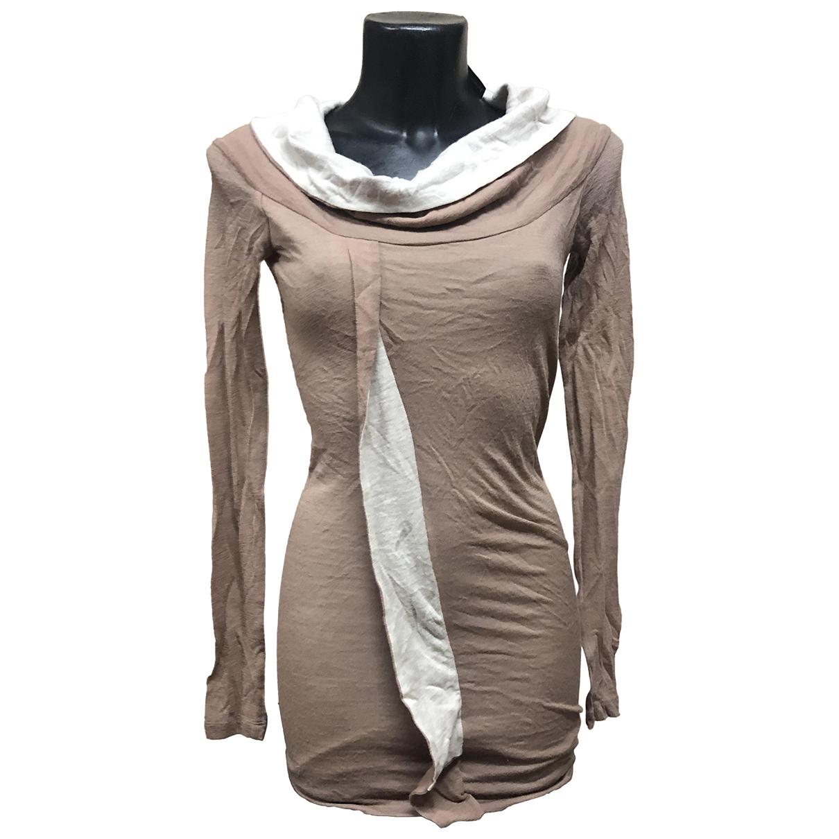 Plein Sud \N Kleid in  Beige Wolle