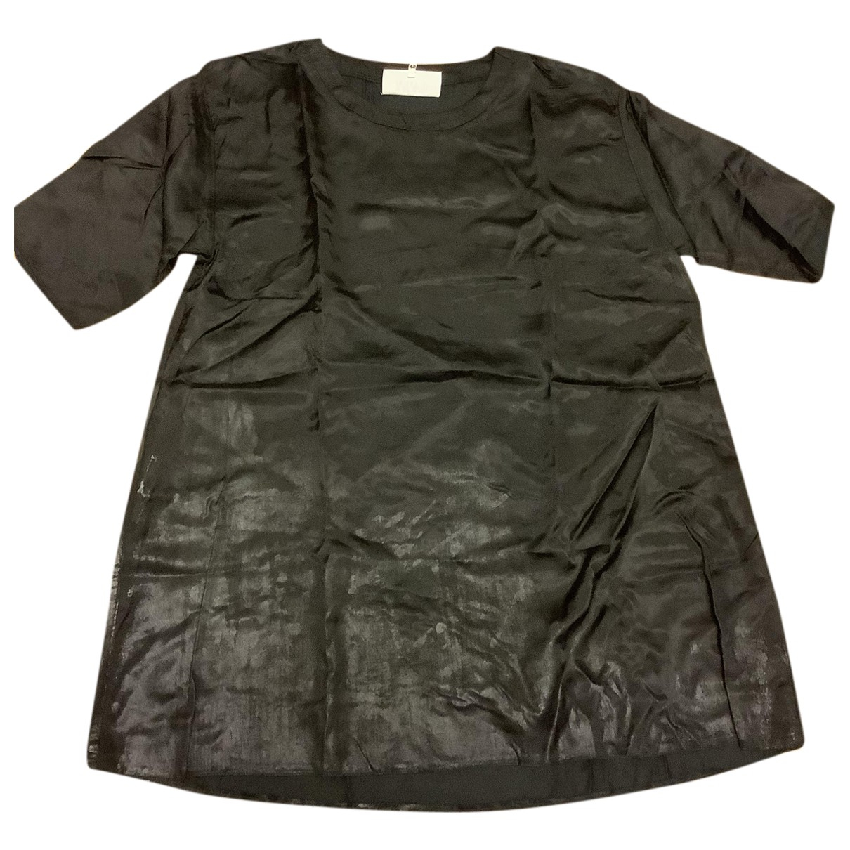 Mm6 N Black  top for Women 42 IT