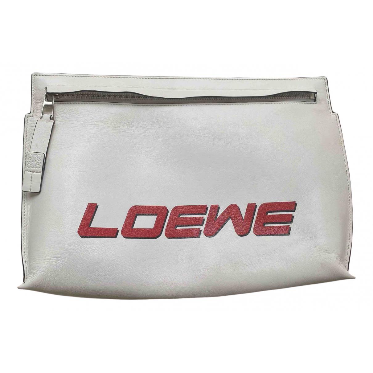 Pochette T Pouch de Cuero Loewe