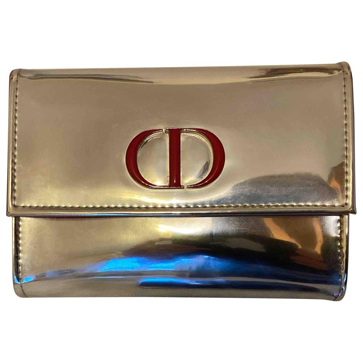Dior - Sac de voyage   pour femme - argente