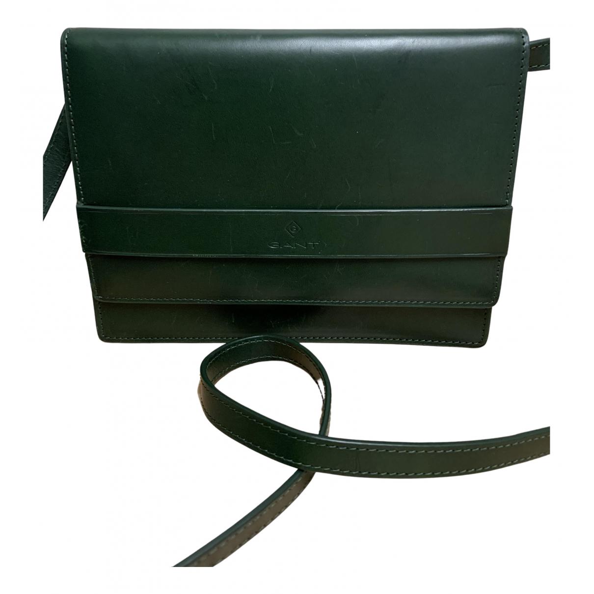 Gant N Green Leather handbag for Women N