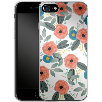 Apple iPhone 7 Silikon Handyhuelle - Poppy Dream von Iisa Monttinen