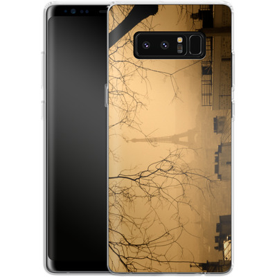 Samsung Galaxy Note 8 Silikon Handyhuelle - Paris von caseable Designs