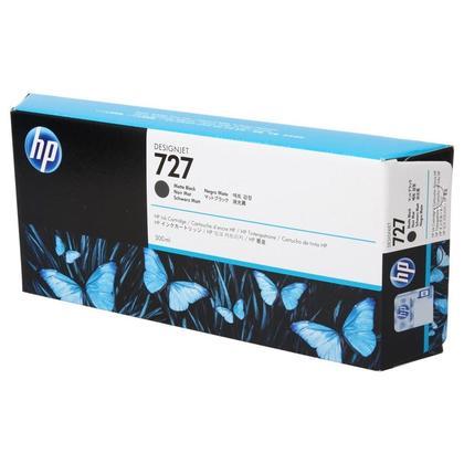 HP 727 C1Q12A cartouche d'encre originale noire mat haute capacité 300ml