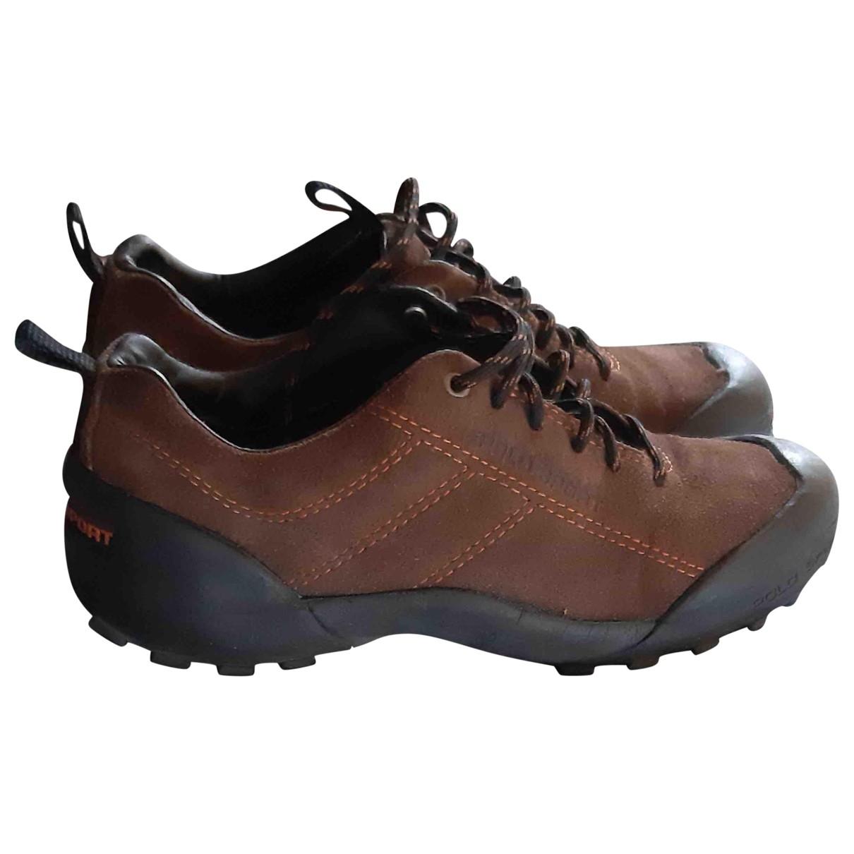 Polo Ralph Lauren \N Sneakers in  Braun Veloursleder