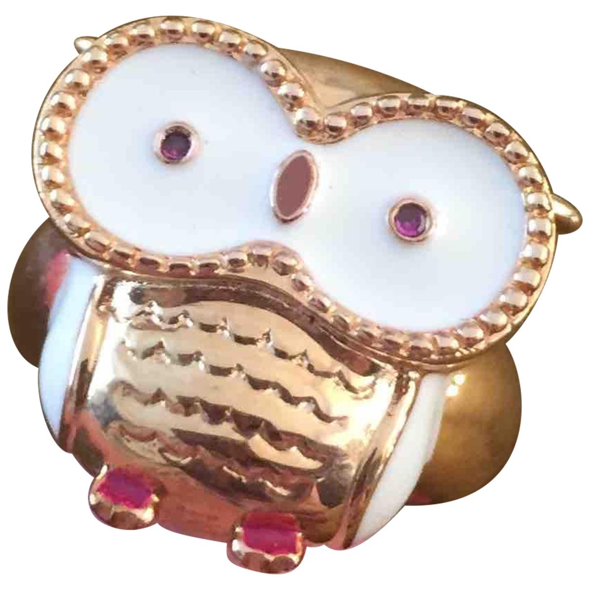Paul & Joe \N Gold Metal ring for Women \N