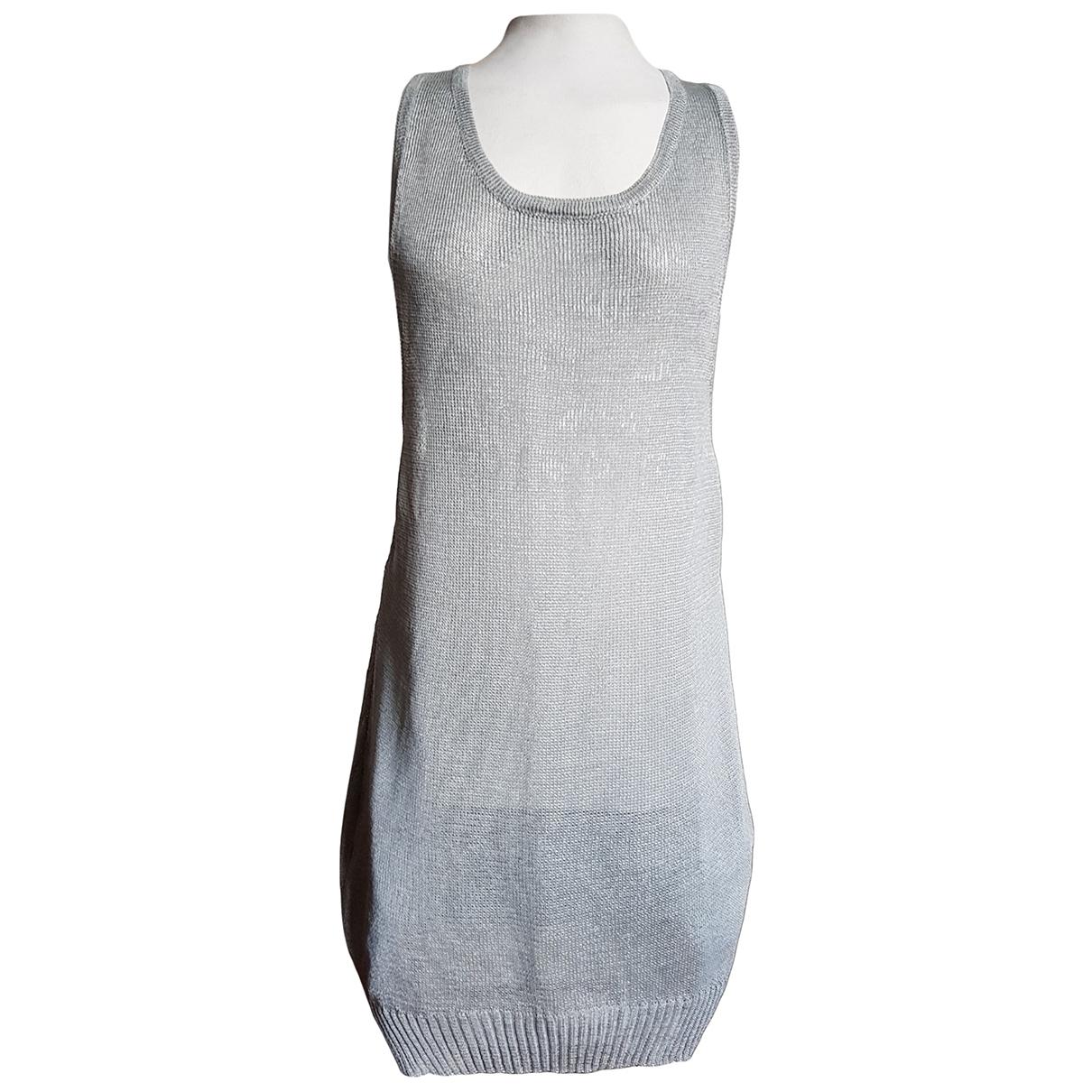 Y-3 \N Kleid in  Metallic Synthetik