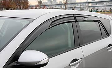 AutoExe Sun Visor   Door Visor 01 Mazda 3 10-13