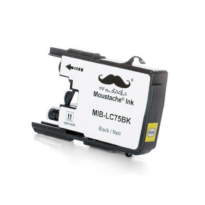 Compatible Brother MFC-J625DW Black Ink Cartridge by Moustache, High Yield