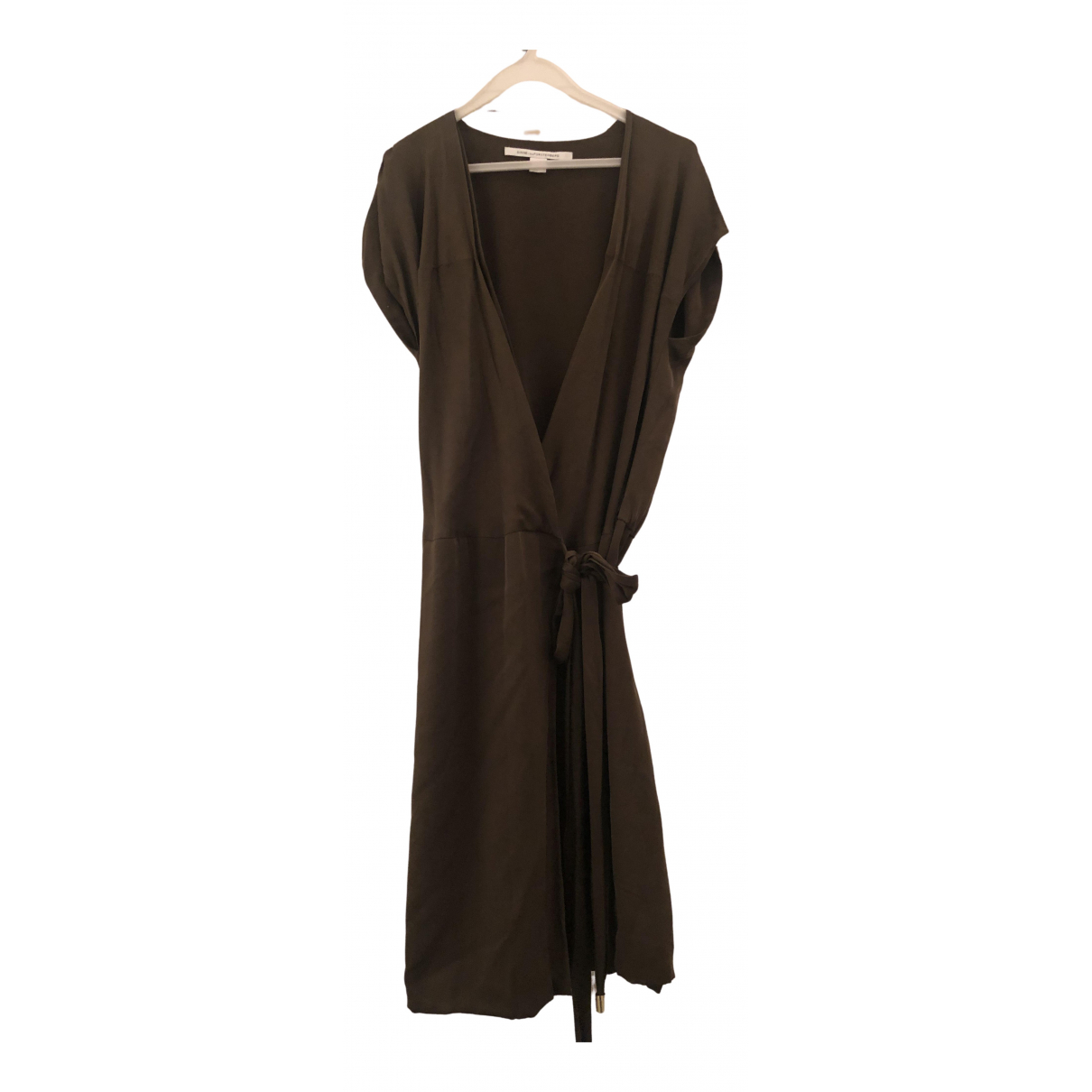 Diane Von Furstenberg N Khaki Silk dress for Women 2 US