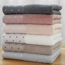 Dot Print Absorbent Towel 1pc