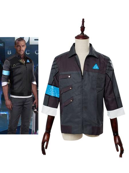 Milanoo Detroit Become Human Markus Halloween Cosplay Coat