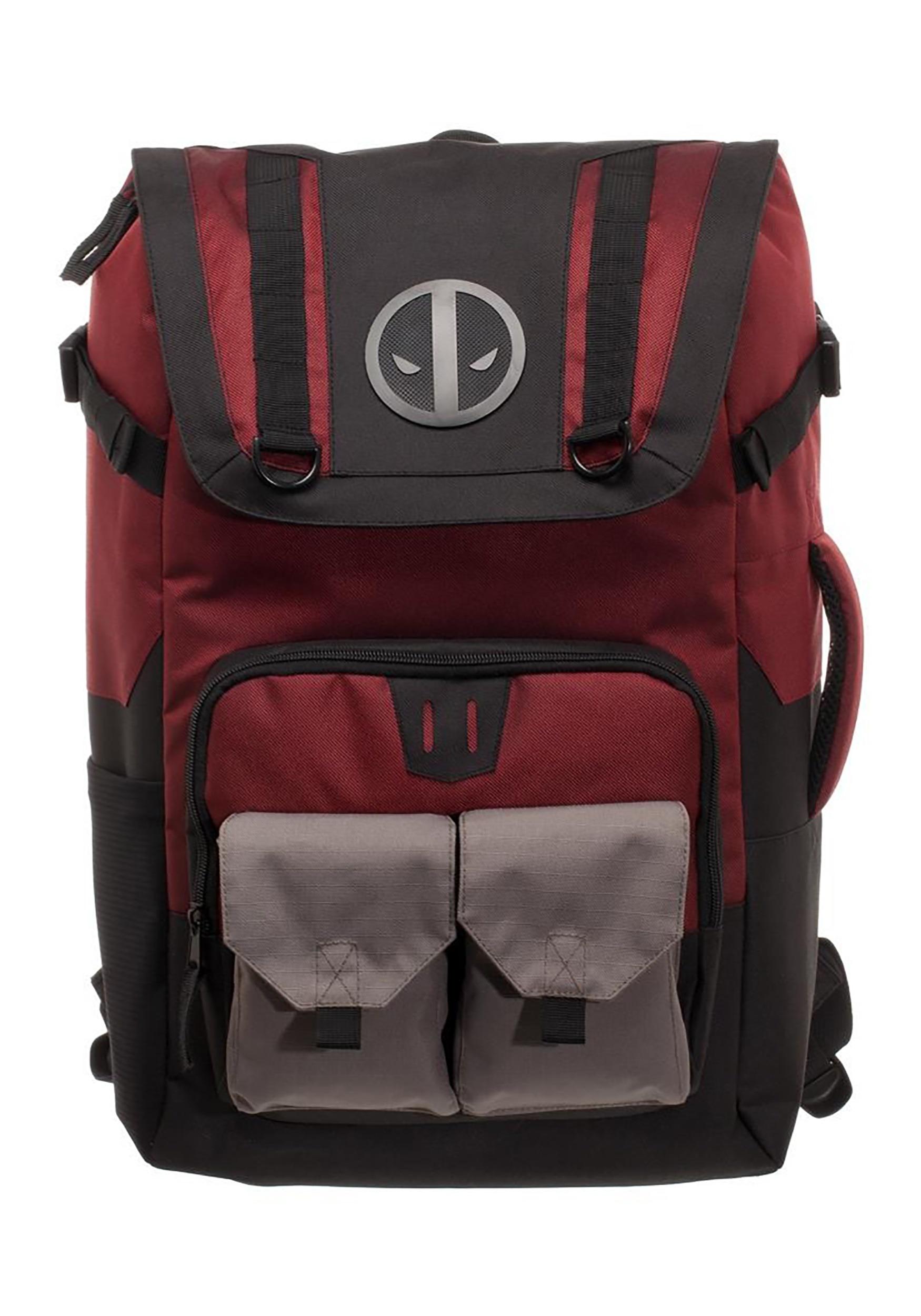Deadpool Red/Black Backpack