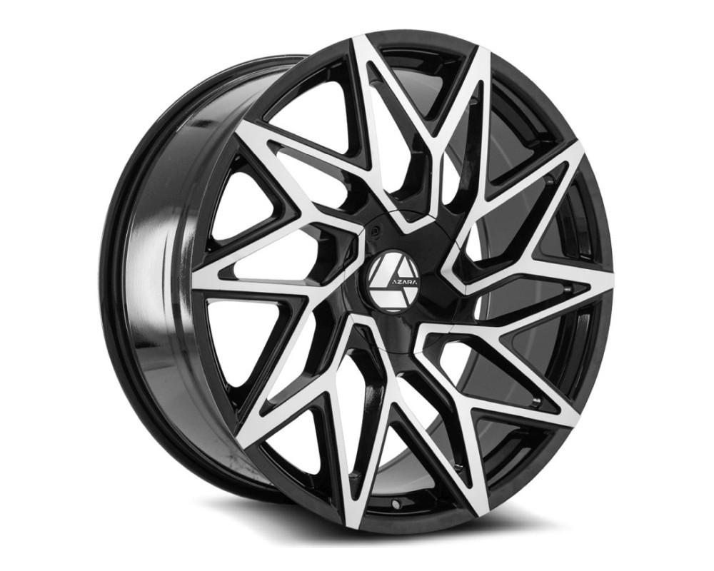 Azara 511 Wheel 22x8.5 5x110|5x114.3 38mm Gloss Black Machined