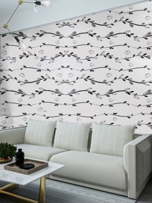 Leaf Print Wall Sticker
