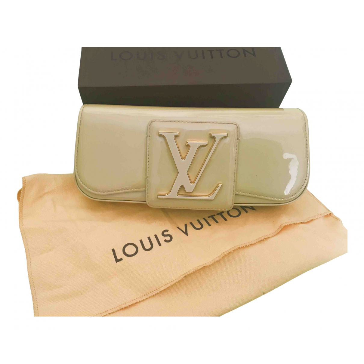 Louis Vuitton Sobe Patent leather Clutch bag for Women \N