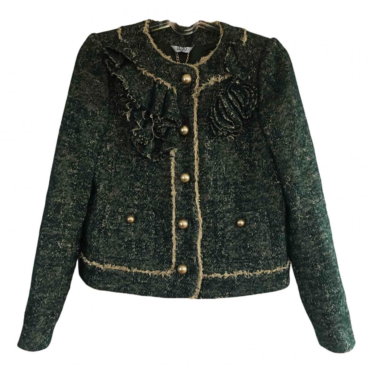 Liu.jo - Veste   pour femme en laine - vert