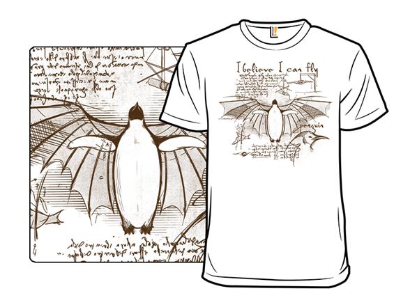 Da Vinci Penguin T Shirt