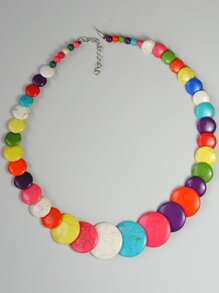 1pc Colorblock Necklace